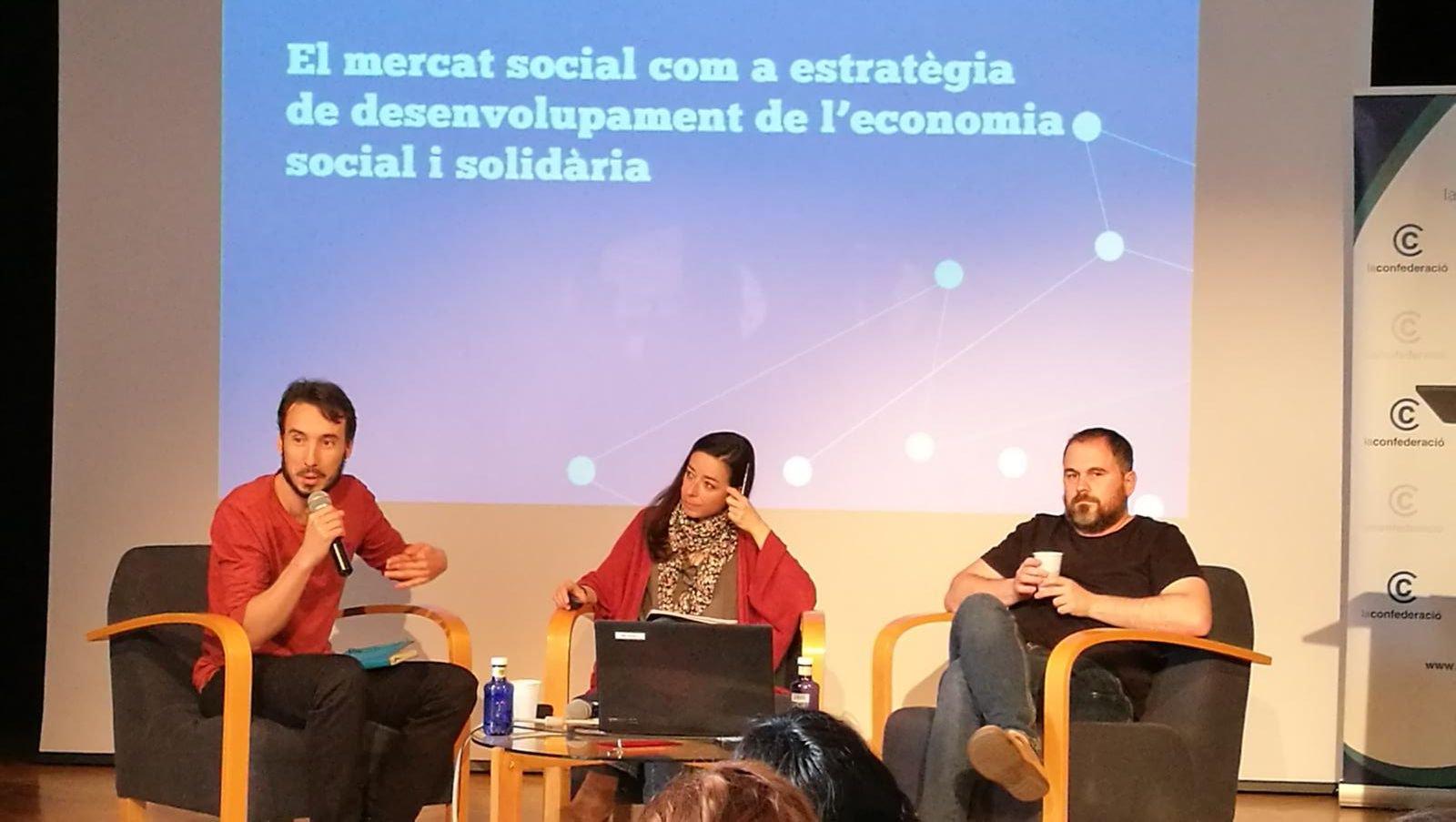 Jornada El Mercat Social Al Tercer Sector Social De Catalunya