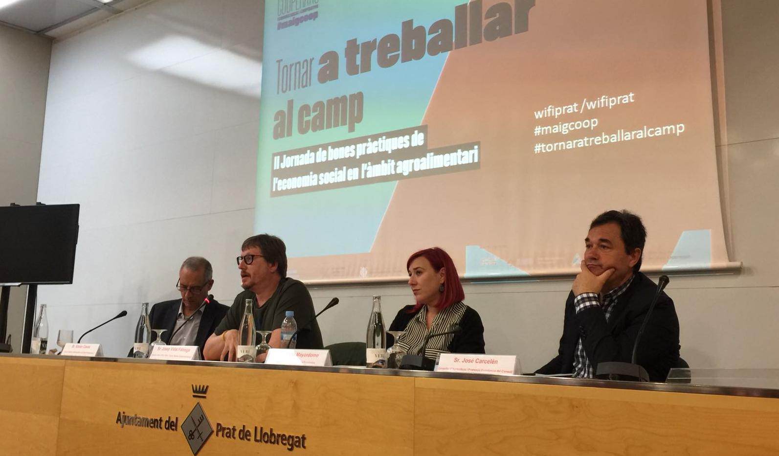 """Jornada De Bones Pràctiques """"Tornar A Treballar Al Camp"""""""