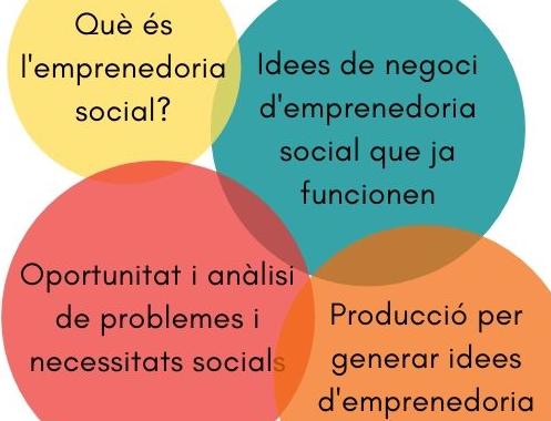 Taller Formatiu: Idees De Negoci Que Aporten Solucions A Necessitats Socials.